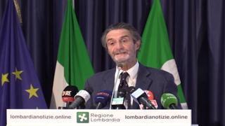 Vaccini, Fontana: «La Lombardia aiuterà i Paesi in difficoltà»