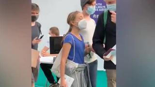Greta Thunberg, l'arrivo a Milano