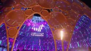Expo Dubai: la super tecnologia di Al Wasl Plaza, la cupola-schermo