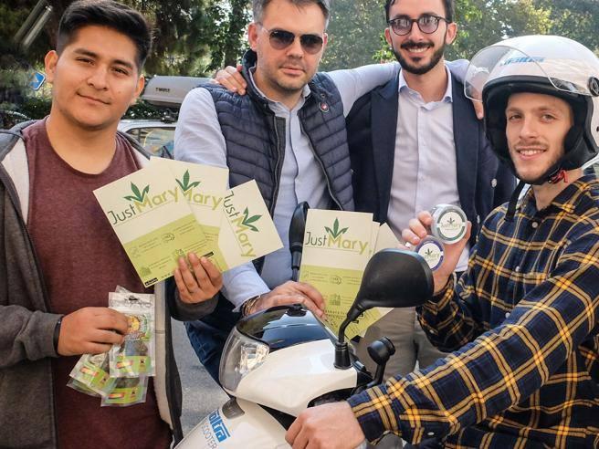 Cannabis legale a domicilio la app milanese fa causa a for Domicilio legale